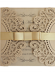 cheap -Gate-Fold Wedding Invitations 50 - Invitation Cards Greeting Cards Mother's Day Cards Baby Shower Cards Bridal Shower Cards Engagement