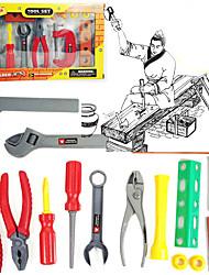 Недорогие -Строительные инструменты Ролевые игры Игрушки Квадратный ABS Детские 18 Куски