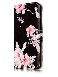 preiswerte -Für iPhone X iPhone 8 Hüllen Cover Kreditkartenfächer Geldbeutel mit Halterung Flipbare Hülle Muster Handyhülle für das ganze Handy Hülle