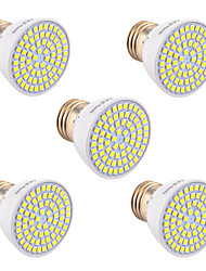abordables -YWXLIGHT® 5pcs 5W 400-500lm GU10 GU5.3(MR16) E26 / E27 Focos LED 72 Cuentas LED SMD 2835 Decorativa Blanco Cálido Blanco Fresco Blanco