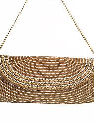 Damen Taschen Frühling Sommer Herbst Winter Ganzjährig Samt Metall Unterarmtasche Perle Crystal / Strass für Hochzeit Veranstaltung /