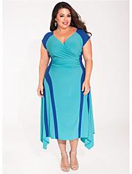 2016 grande vestito da cucitura vestito misura Feipo