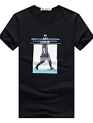 degli uomini di estate&uomini s abiti estivi a maniche corte t-shirt in cotone sottile adolescente coreano; # 39&# 39; s di base