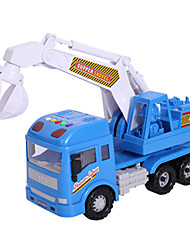 cheap -Toy Cars Toys Construction Vehicle Excavator Toys Pull Back Vehicles Excavating Machinery ABS 1 Pieces Kids Unisex Gift