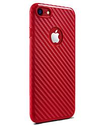 economico -Per iPhone X iPhone 8 Custodie cover Resistente agli urti Custodia posteriore Custodia Tinta unica Morbido Silicone per Apple iPhone X