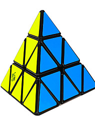 cheap -Rubik's Cube Yulong Pyramid 3*3*3 Smooth Speed Cube Magic Cube Stress Relievers Educational Toy Puzzle Cube Smooth Sticker ABS PVC