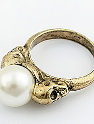 Men's Women's Band Rings Ring Cuff Ring Imitation Pearl Basic Unique Design Logo Style Friendship British Bohemian Classic Punk Elegant