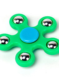 Fidget Spinner Hand Spinner Toys Five Spinner Plastic EDCStress and Anxiety Relief Office Desk Toys Relieves ADD, ADHD, Anxiety, Autism