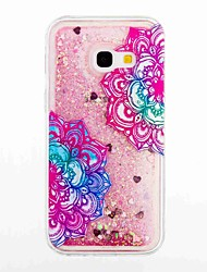 cheap -For Samsung Galaxy A3(2017) A5(2017) Flowing Liquid Pattern Case Back Cover Case Flower Soft TPU for A5(2016) A3(2016)