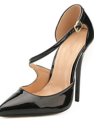 Unisex Heels Spring Fall Club Shoes Silk Wedding Party & Evening Stiletto Heel Buckle Light Brown Light Blue Blue Green Red
