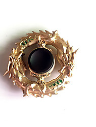 billiga -Handspinners / Hand Spinner för att döda tid / Stress och ångest Relief / Focus Toy Ring Spinner Metallisk Klassisk 1 pcs Bitar Flickor Barn / Vuxna Present