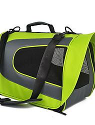 cheap -Cat / Dog Carrier & Travel Backpack / Shoulder Bag Pet Carrier Portable / Breathable Solid Colored Green / Blue / Pink