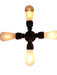 abordables -AC 100-240 16 E27 Rústico/Campestre Tradicional/Clásico Latón Envejecido Característica for LED Bombilla Incluida,Luz AmbienteLuces de
