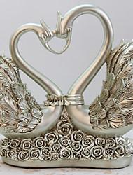 Swan Animals Polyresin Modern/Contemporary RetroCollectibles Indoor Decorative Accessories