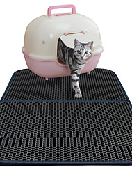 cheap -Cat Bed Pet Mats & Pads Solid Waterproof Double-Sided Breathable Foldable Black For Pets