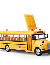 Недорогие -KDW Игрушечные машинки Модель авто Строительная техника Автобус Музыка и свет Игрушки Подарок
