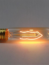 cheap -110/220V T10 Retro Atmosphere Edison Tungsten Silk Light Bulb 1pcs