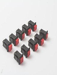 Self-locking Key Switch 1A / 250V AC 3A / 125V AC (10Pcs)