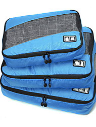 3 PCS Travel Bag Travel Luggage Organizer / Packing Organizer Portable Foldable Travel Storage Luggage Accessory Durable Large Capacity