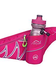 cheap -2 L Waist Bag / Waistpack - Moistureproof, Wearable, Breathable Outdoor Camping / Hiking, Traveling LightBlue, Dark Blue, Gray