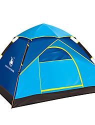 Недорогие -3-4 человека Световой тент Один экземляр Палатка Однокомнатная Автоматический тент Влагонепроницаемый Водонепроницаемость С защитой от
