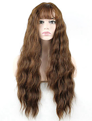 cheap -Hot Selling Brown Color Synthetic Cosplay Wigs For Women Party Wig