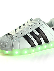 cheap -Boys' Shoes PU(Polyurethane) Summer / Fall First Walkers / Light Up Shoes / Luminous Shoe Sneakers LED for Black / Pink