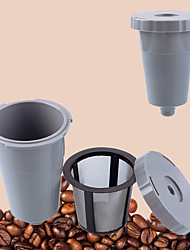cheap -Plastic Metal Coffee Filter Reusable , 8.8*6.4*6.4