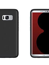 preiswerte -Hülle Für Samsung Galaxy S8 Plus S8 Stoßresistent Rückseitenabdeckung Volltonfarbe Hart PC für S8 S8 Plus S7 edge S7 S6 S5