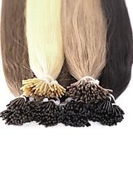 Neitsi haute qualité 28 '' 25g / lot 1g / s je pose des extensions de cheveux 100% straight remy cheveux humains
