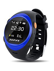 Yy zgpax s888a bluetooth imperméable à l'eau smartwatch enfants senior sos gps suivi intelligent watch anti-lost alarm pour ios téléphone