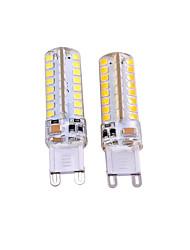 Недорогие -2pcs 3W 550-650lm G9 Двухштырьковые LED лампы T 64 Светодиодные бусины SMD 2835 Декоративная Тёплый белый Белый 110-130V 220-240V
