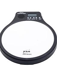 1PCS ENO Digital Drumming Practice Drum Pad With Metronome 3 in 1 For Drummer Black White Green Orange Metronomer Electronic Practise Pad