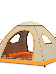 3-4 Pessoas Único Barraca de acampamento Um Quarto Tenda Dobrada para Campismo Viajar CM