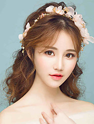 Tulle Alloy Headpiece-Wedding Special Occasion Outdoor Flowers 1 Piece