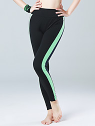 Women's Running Pants High Breathability (>15,001g) Push Up Compression Lightweight Materials Comfortable Tights Bottoms for Yoga
