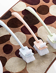 cheap -Long Handle Plain Plastic Toilet Brush Fur