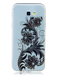 cheap -For Samsung Galaxy A7 A5 (2017) Case Cover Pteris Pattern HD Painted High Penetration TPU Material Soft Case Phone Case A3 (2017) A3 A5 (2016)