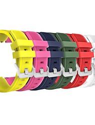 preiswerte -6 PC für Samsung-Gang s3 Grenze / s3 klassischer Wiedereinbau-Bandbügelgurt weiches Silikonarmband Wristband