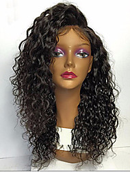 cheap -Premier Loose Curly Wave Lace Front Human Hair Wigs-Glueless 130% 150% 180% Density Brazilian Virgin Remy Wigs with Baby Hair