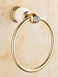 Towel Ring Contemporary Brass 16.5CM Towel Ring Wall Mounted