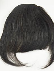 Недорогие -Евразийский человеческий волос челка губами для женщин
