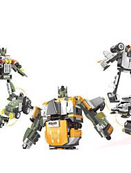 abordables -Puzzles 3D Robot Juguetes Cuadrado Eagle Máquina Robot Transformable Niños Unisex Piezas