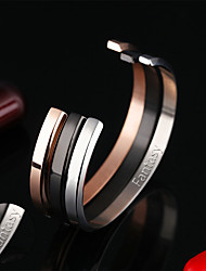 Europe and the United States tide products Fashion Bracelet titanium steel inlaid diamond thin plate and opening Bracelet GH856
