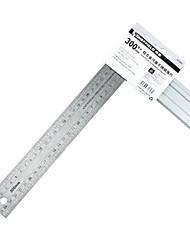 Шеффилд® 300 * 150мм 90-градусный инструмент для линейки из нержавеющей стали из нержавеющей стали (одна штука)