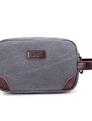 preiswerte -Damen Taschen Leinwand Unterarmtasche für Normal Ganzjährig Schwarz Militßrgrün Grau Kaffee Braun