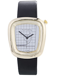 cheap -Women luxury Brand Fashion Square Casual Quartz Unique Stylish Watches Small Female Leather Sport Men Watch