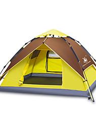 GAZELLE OUTDOORS 3-4 persone Tenda Doppio Tenda da campeggio Una camera Tre camere Tenda automatica Ompermeabile Antivento Resistente ai