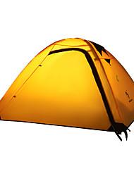 Недорогие -2 человека Световой тент Двойная Палатка Однокомнатная Туристические палатки для Походы Путешествия См