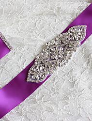 Bridal Belt Colorful Wedding Accessories Luxury Rhinestone Wedding Belt Sash Crystal
